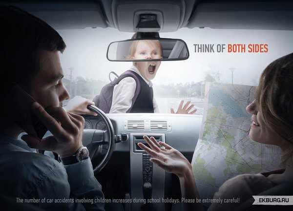 publicidad para evitar accidentes