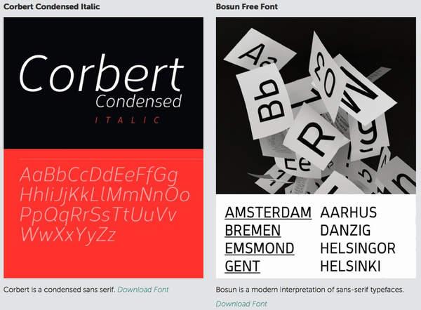 100 tipografías gratuitas