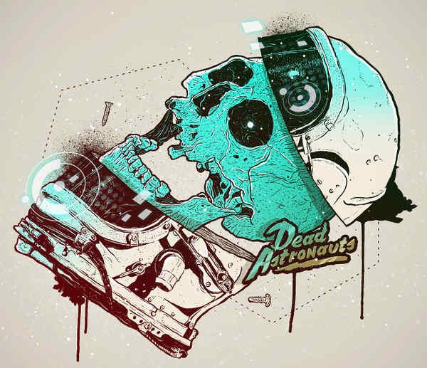 ilustración de cráneo