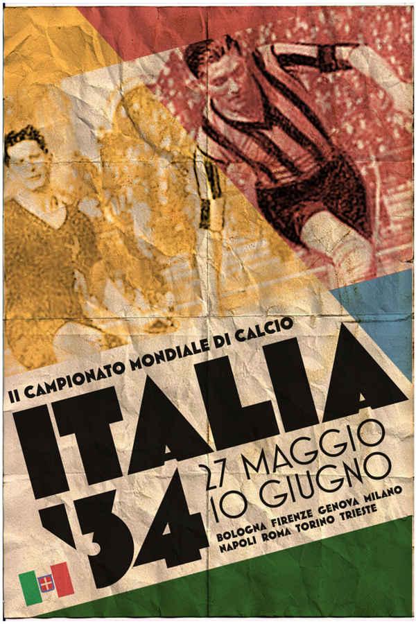 posters de los mundiales fútbol