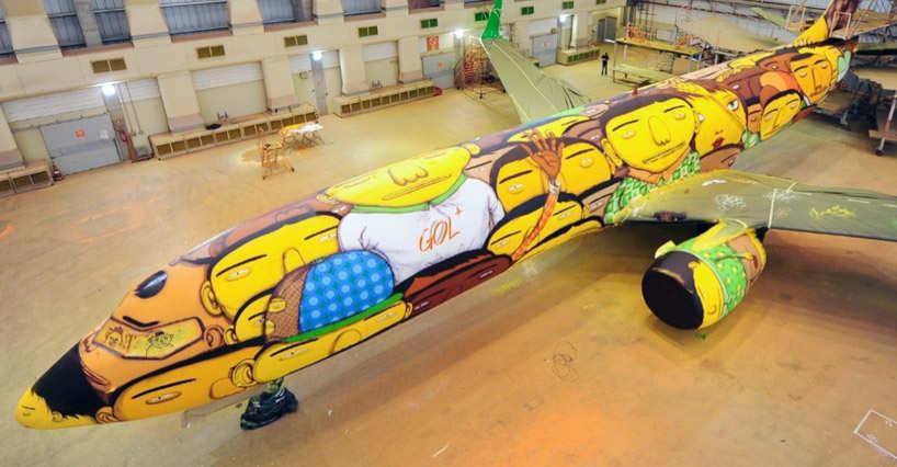 avión selección de Brasil