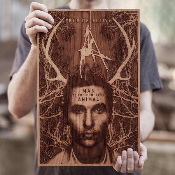 posters de madera