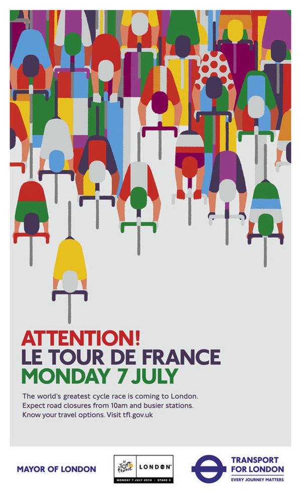 posters para le tours de France 2014