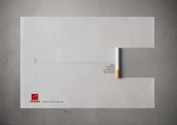 publicidad día mundial no tabaco