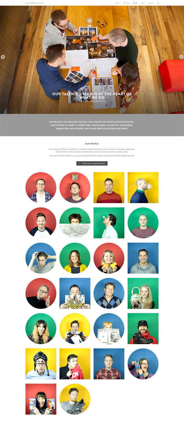 diseños web para inspirarse