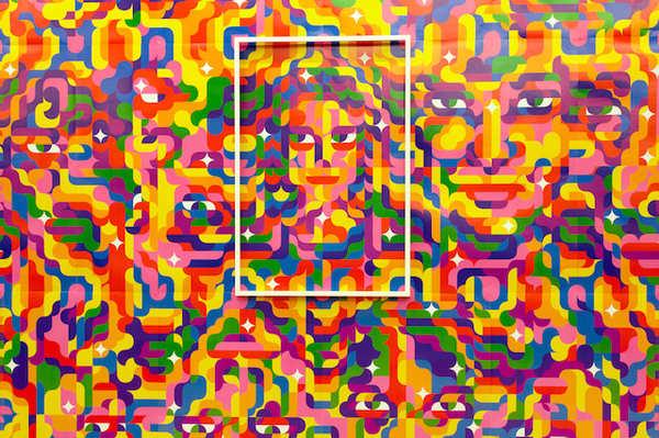ilustración vectorial geométrica