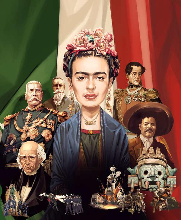 ilustraciones mexicanos