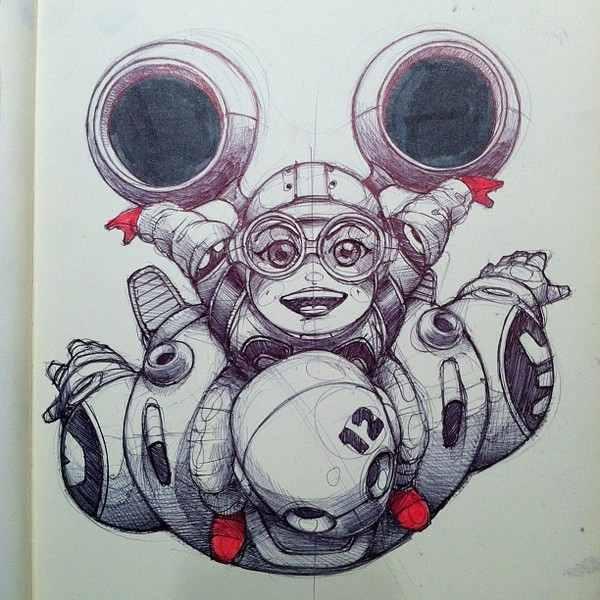 sketches en una moleskine