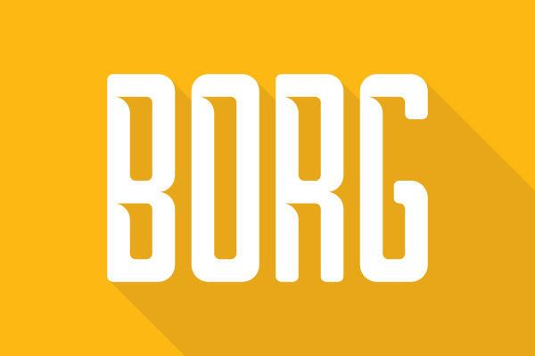 tipografía gratis borg