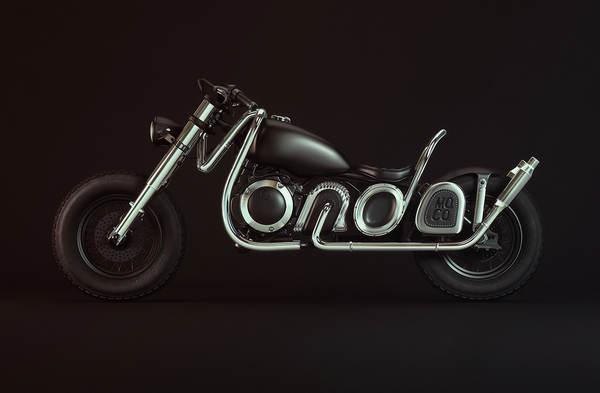 fuente en moto