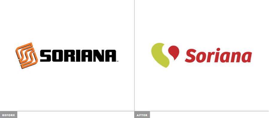 nuevo logotipo de soriana