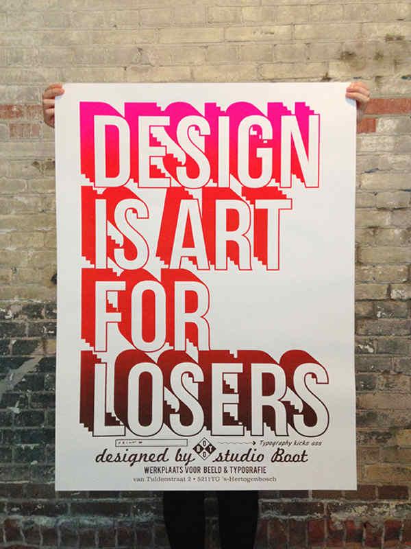 posters tipográfico
