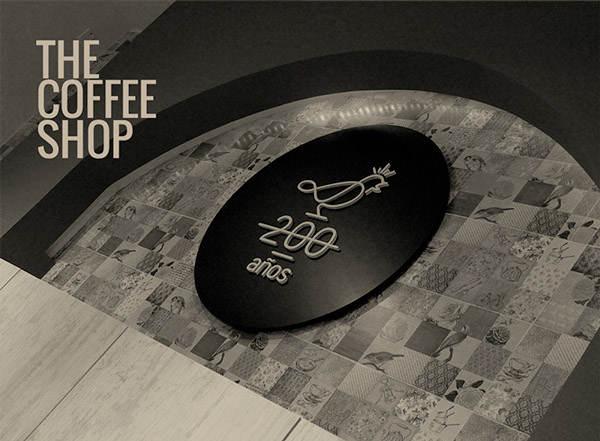 identidad corporativa café