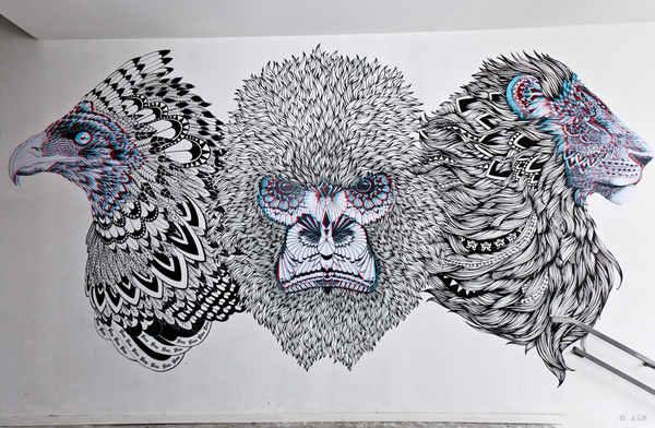 murales en paredes