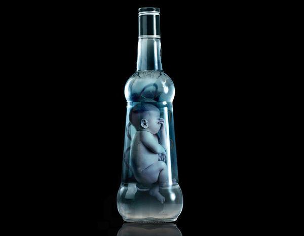 publicidad alcohol embarazo