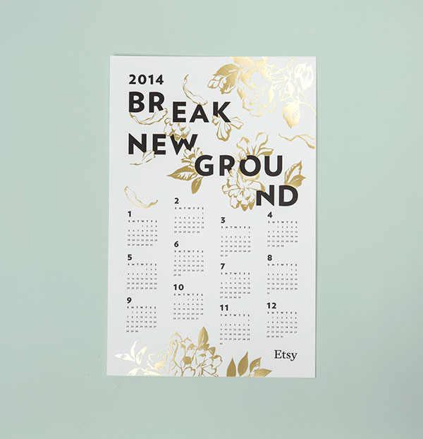 calendario etsy