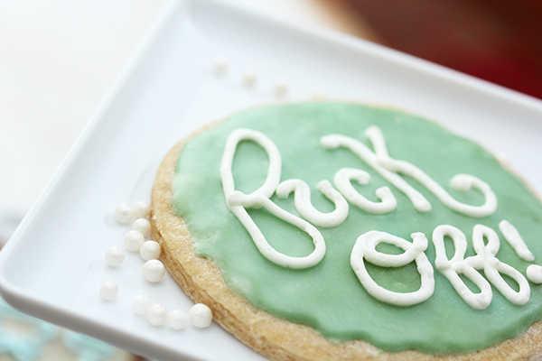 escritura pasteles de cumpleaños