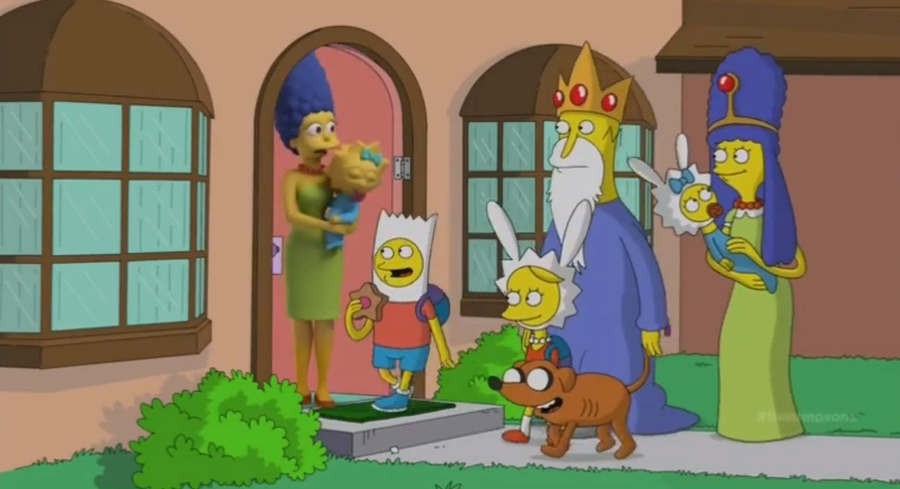la casita del terror los simpsons
