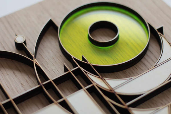 madera corte láser