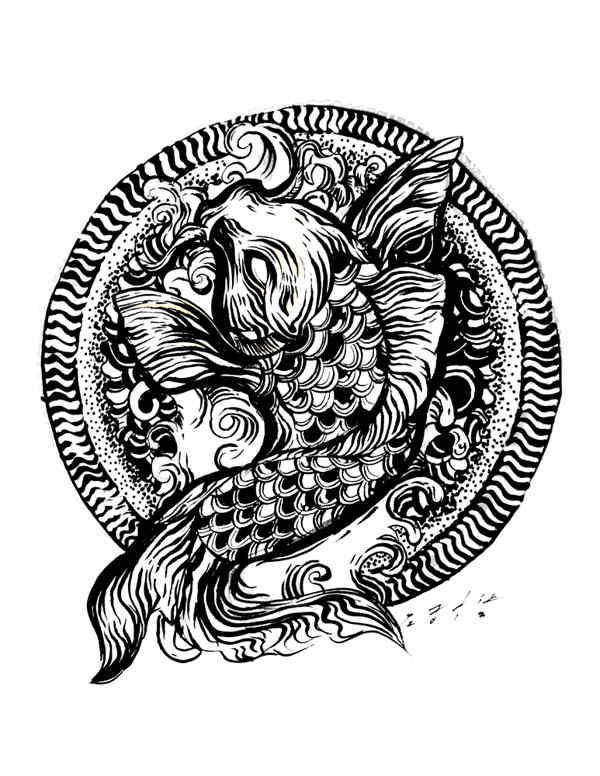 dibujo estilo mexicano
