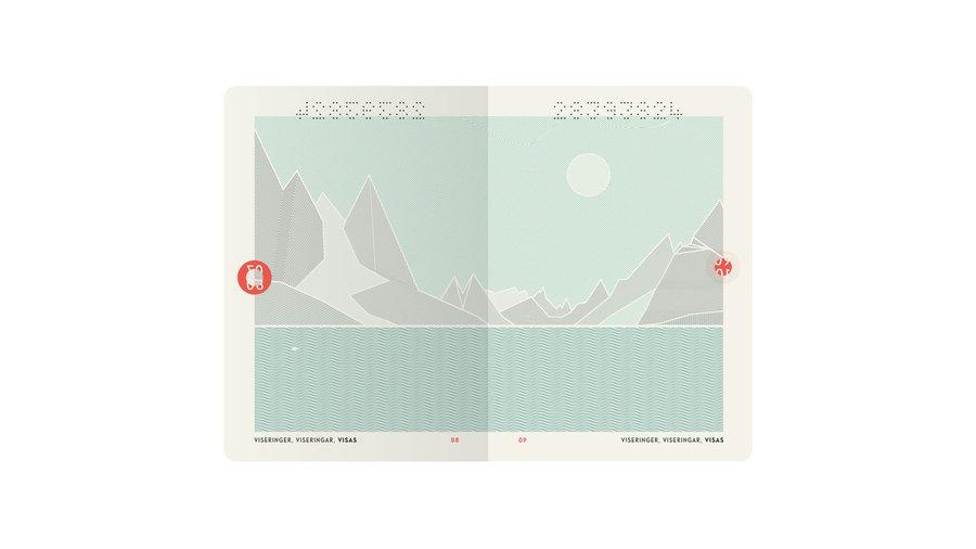 nuevo pasaporte de Noruega