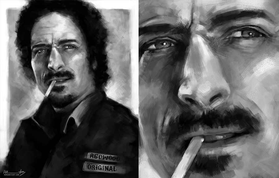 pinturas digitales personajes tv