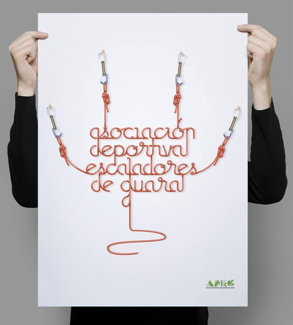 póster asociación escaladores
