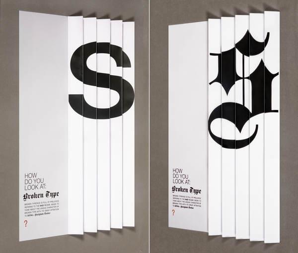 posters de letras en 3d