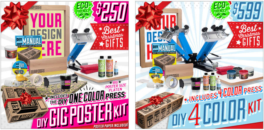 kits para imprimir en serigrafía