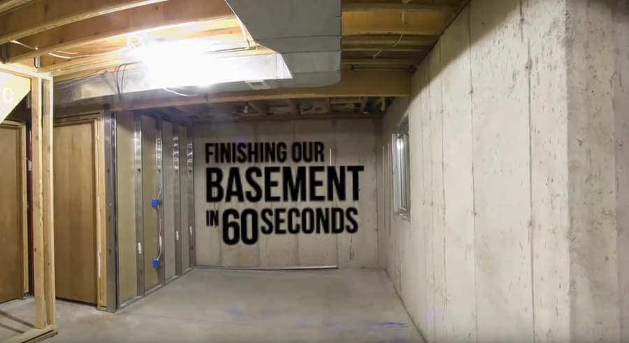 Restauración de un sótano