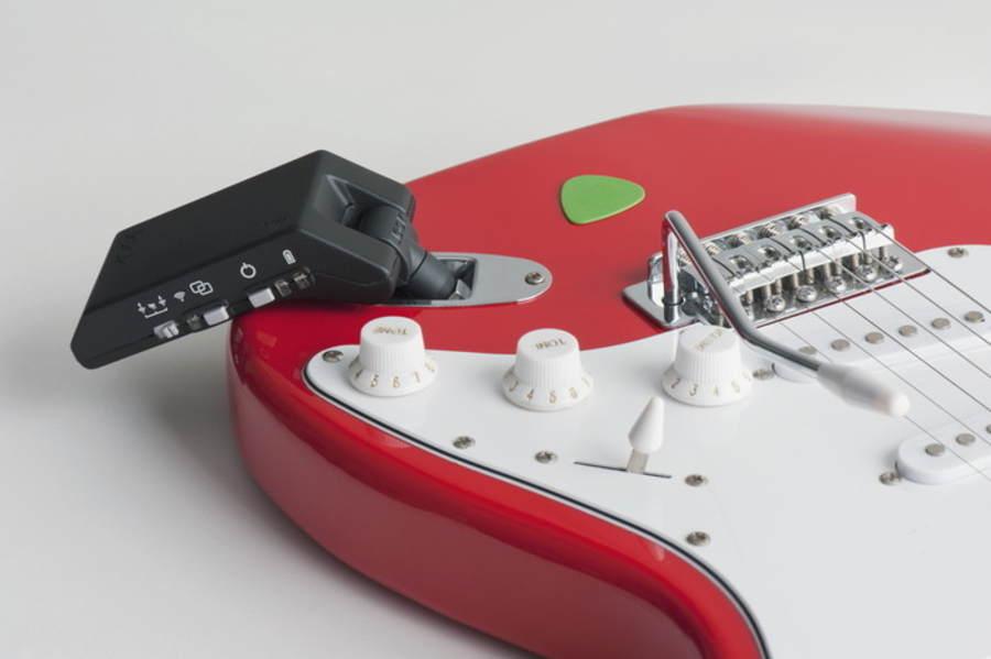 guitarra eléctrica sin cables