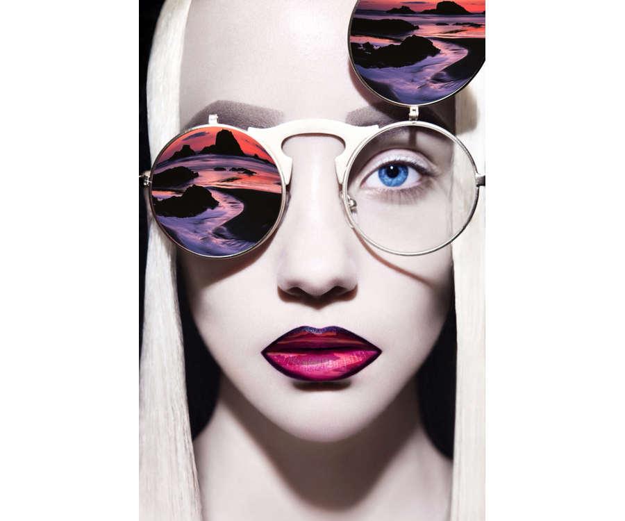 modelos con lentes