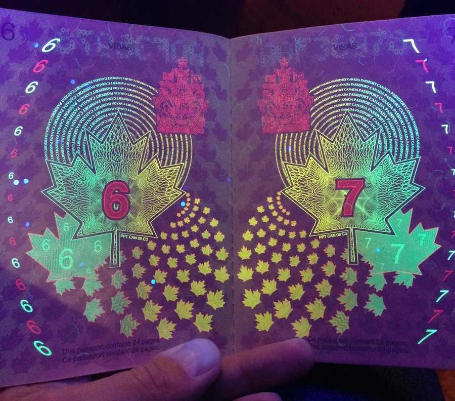 pasaporte de Canadá
