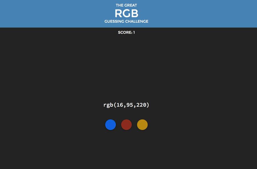 reto color rgb