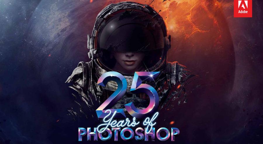 aniversario 25 de Photoshop