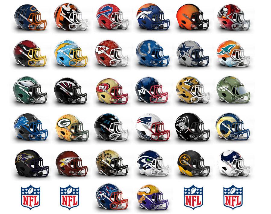 cascos de la NFL