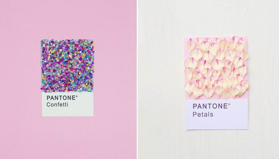 color pantone confeti