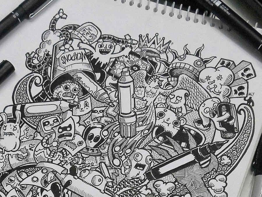Dibujo De Hada Para La Portada De Una Libreta De Una Ni A: Libretas De Dibujo De Un Artista Freelance