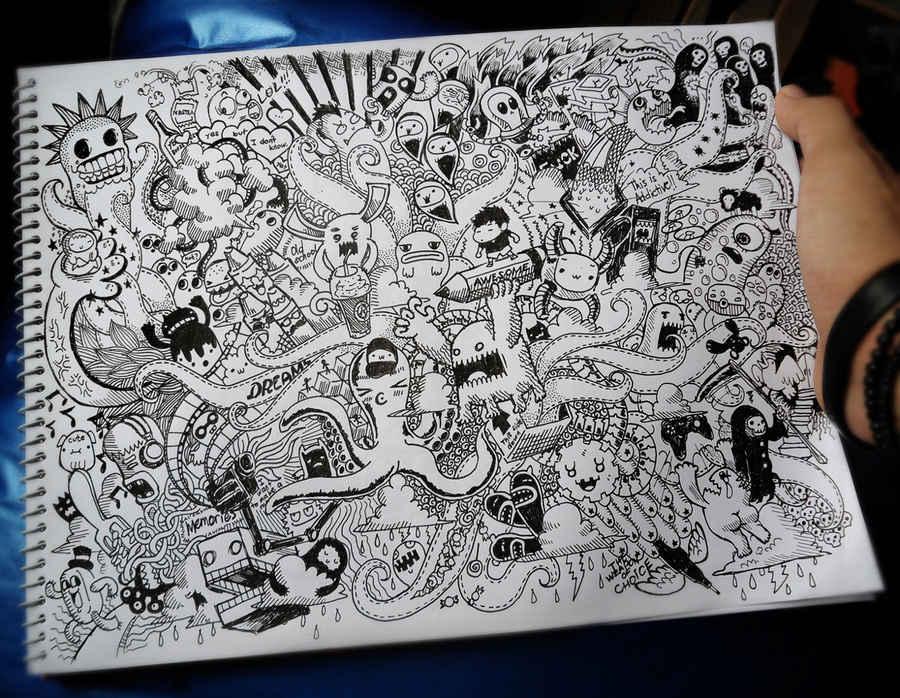 Dibujos De Mi Libreta: Libretas De Dibujo De Un Artista Freelance