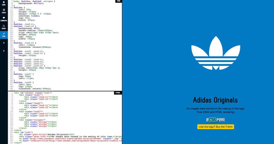 logotipos hechos con CSS3