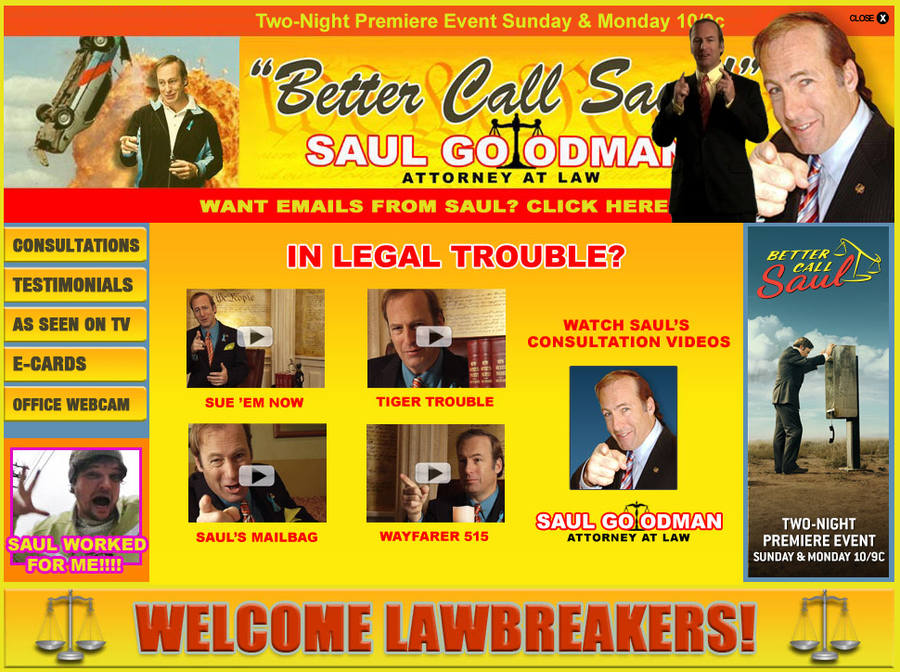 página web better call Saul