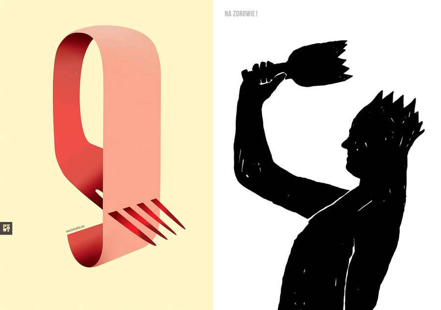 pósters de estudiantes de diseño