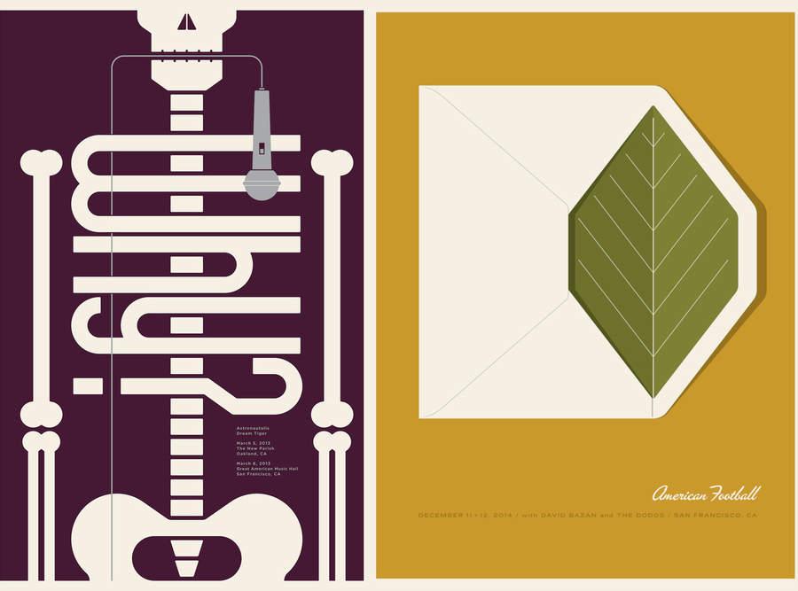 posters elegantes minimalistas