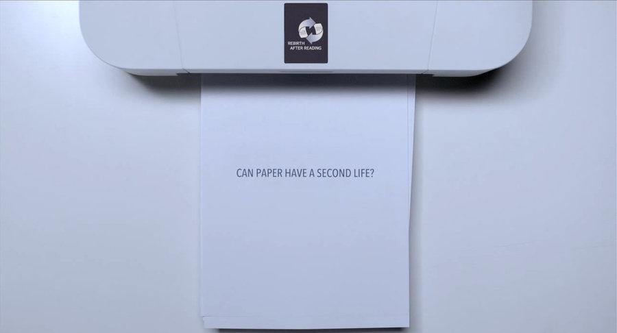 tinta para impresora que desaparece