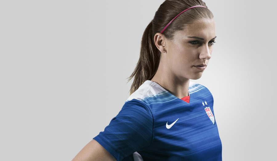 uniforme fútbol de los Estados Unidos