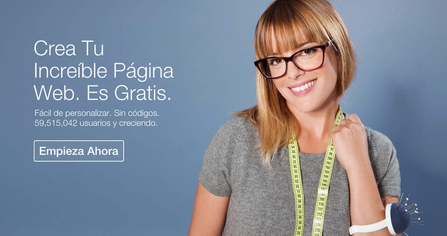 wix página web gratis