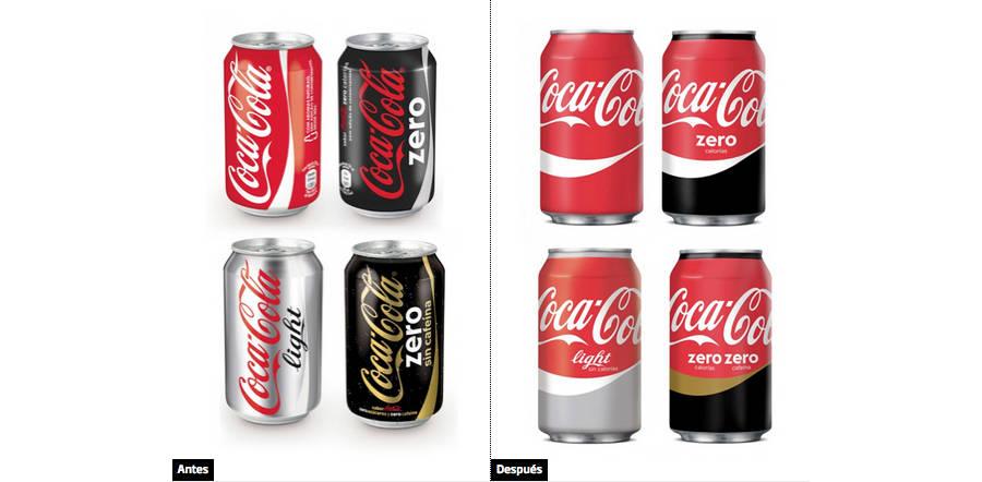 diseños nuevos en latas de coca-cola