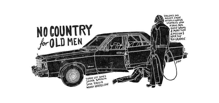 ilustraciones inspiradas en películas