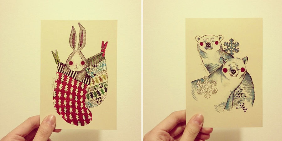 ilustraciones pequeñas