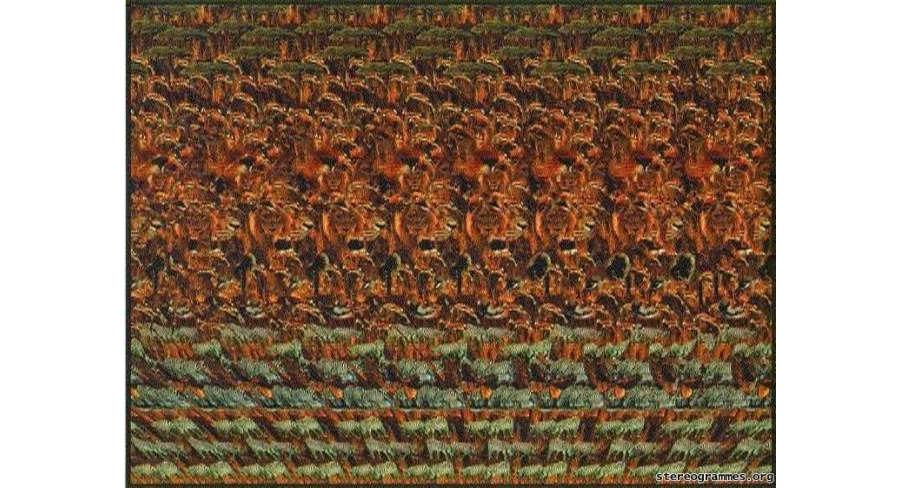 imágenes de estereogramas